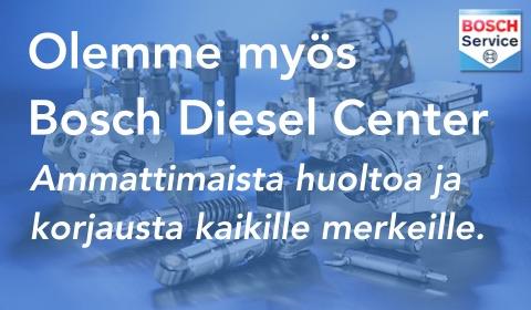 Bosch Diesel Center Turku - Autosähkö ja Dieselhuolto Häkkinen Oy