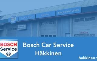 Bosch Car Service Turku - Autosähkö ja Dieselhuolto Häkkinen Oy